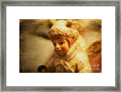 Littlest Angel Framed Print by Terry Rowe