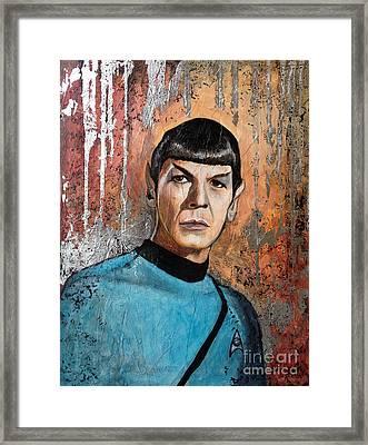 Live Long And Prosper Framed Print by Dori Hartley