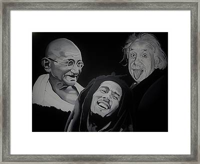 Live Love Laugh Framed Print by Brian Broadway