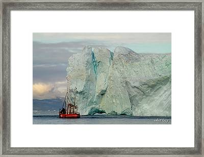 Living Dangerously Framed Print by Robert Lacy