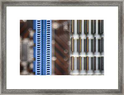 Living Digital Framed Print by Angelina Vick