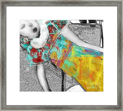 living Doll Framed Print by Ruth Clotworthy