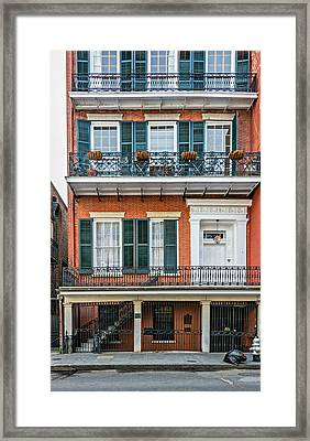 Living High In The French Quarter Framed Print by Steve Harrington