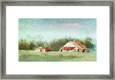 Living In The Past Framed Print by Betty LaRue