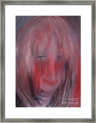 Living With Depression Framed Print by Isabella Abbie Shores