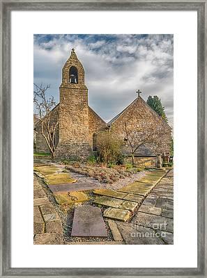 Llanasa Church Framed Print by Adrian Evans