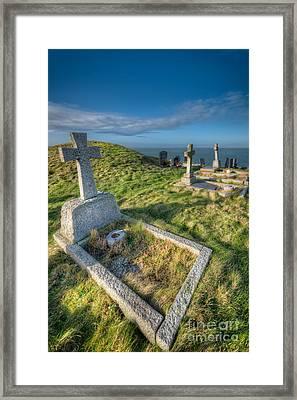 Llanbadrig Cemetery Framed Print by Adrian Evans