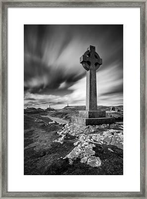 Llanddwyn Island Framed Print by Dave Bowman