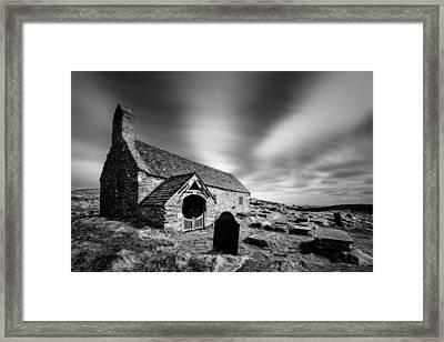 Llangelynnin Church Framed Print by Dave Bowman