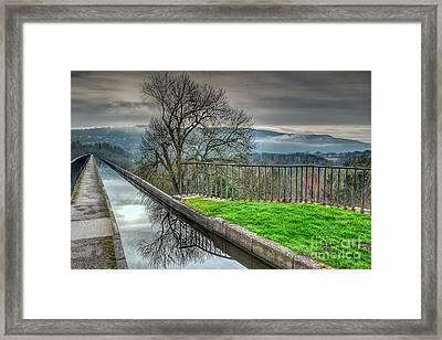 Llangollen Canal  Framed Print by Adrian Evans
