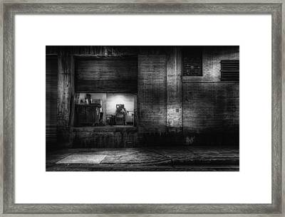 Loading Dock Framed Print by Scott Norris