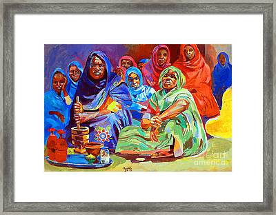 Local Perfume For The Bride Framed Print by Mohamed Fadul