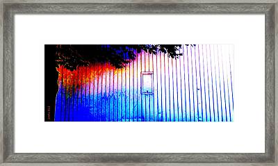 Location 54 North  A Shed Full Of Surprises Framed Print by Sir Josef - Social Critic - ART