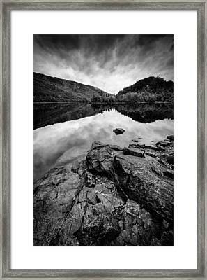 Loch Beinn A Mheadhoin Framed Print by Dave Bowman