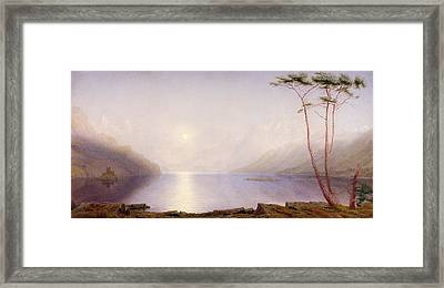 Loch Duich, Summer Moonlight Framed Print by William Turner