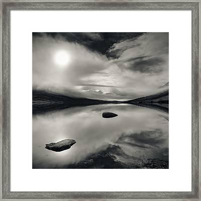 Loch Etive Framed Print by Dave Bowman