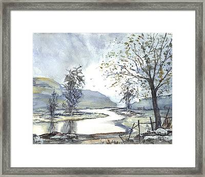 Loch Goil Scotland Framed Print by Carol Wisniewski