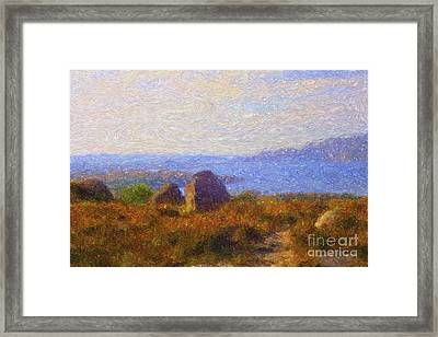 Loch View Framed Print by Diane Macdonald