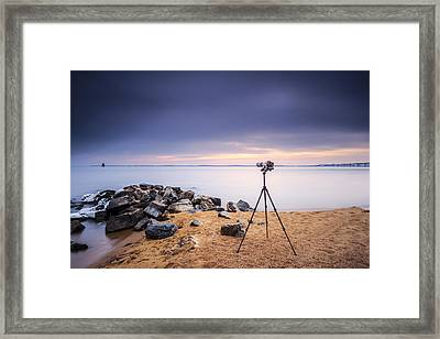 Locked And Loaded Framed Print by Edward Kreis