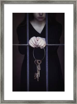 Locked-in Framed Print by Joana Kruse
