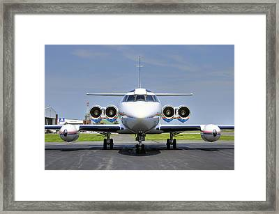 Lockheed Jetstar 2 Framed Print by Dan Myers