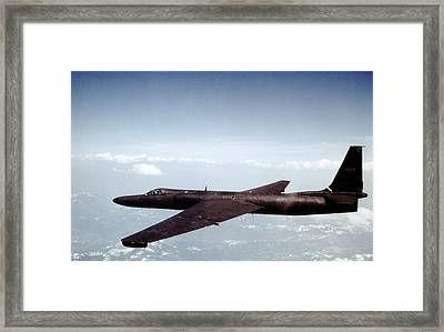 Lockheed U-2 Spy Aircraft, 1950s Framed Print by Science Photo Library