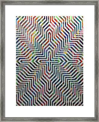 Locking On Framed Print by Sean Ward