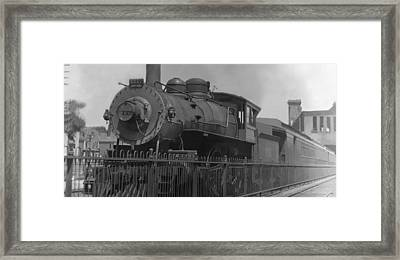 Locomotive 1110 Framed Print by Henri Bersoux