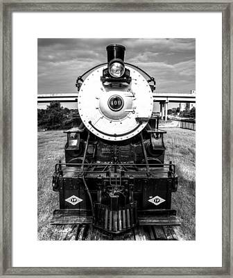 Locomotive 400 Marshall Texas Framed Print by Geoff Mckay