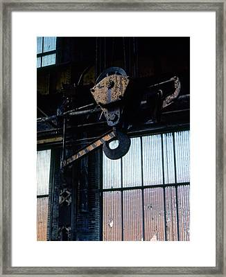 Locomotive Hook Framed Print by Richard Rizzo