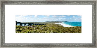 Lodges At The Oceanside, South Ocean Framed Print by Panoramic Images