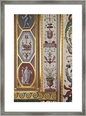 Loggia Of Raphael In Room 227, State Framed Print by Panoramic Images