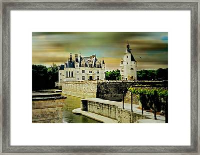 Loire Valley Chateau Framed Print by Diana Angstadt