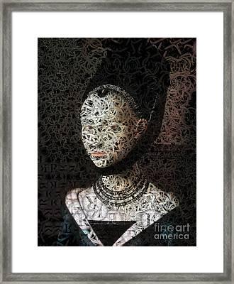 Lola - Creative Portrait Series Framed Print by Aimelle