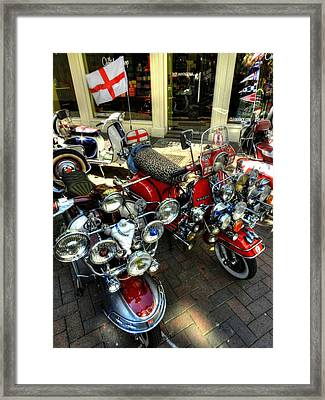 London 088 Framed Print by Lance Vaughn