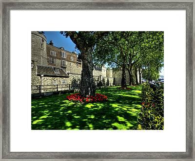 London 119 Framed Print by Lance Vaughn