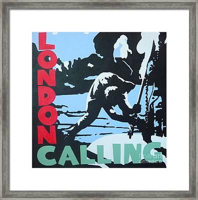London Calling Framed Print by ID Goodall