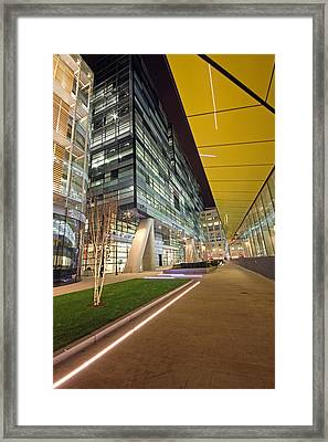 London City Architecture Framed Print by Ollie Taylor