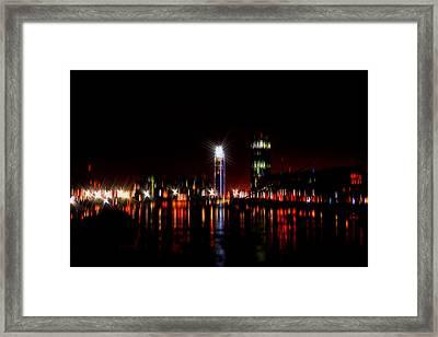 London River Thames Art Vi Framed Print by Doc Braham