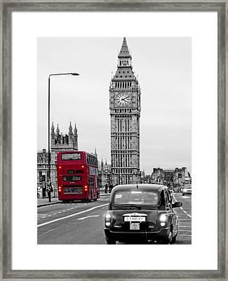 London Street-view Framed Print by Joachim G Pinkawa