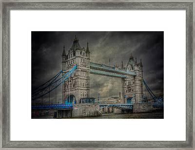 London Tower Bridge Framed Print by Erik Brede