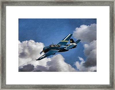 Lone Avenger Framed Print by Peter Chilelli