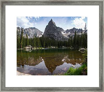 Lone Eagle Afternoon Framed Print by Aaron Spong
