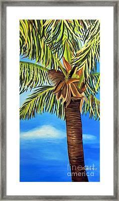 Lone Palm Framed Print by Shelia Kempf