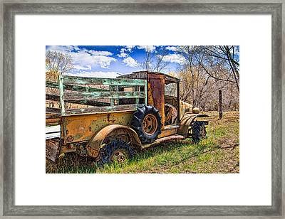 Lone Soldier Framed Print by Steven Bateson