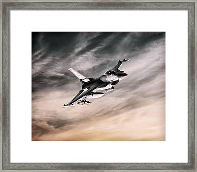 Lone Viper Framed Print by Peter Chilelli