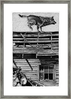 Lone Wolf Framed Print by Chip Skelton