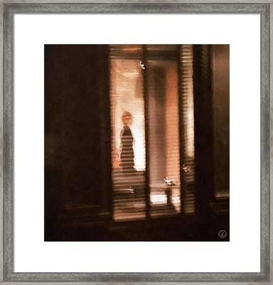 Lonely Framed Print by Gun Legler