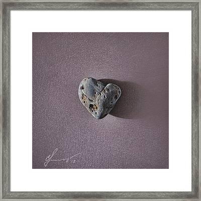 Lonely Heart Framed Print by Elena Kolotusha