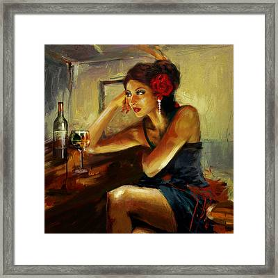 Lonely  Framed Print by Maryam Mughal